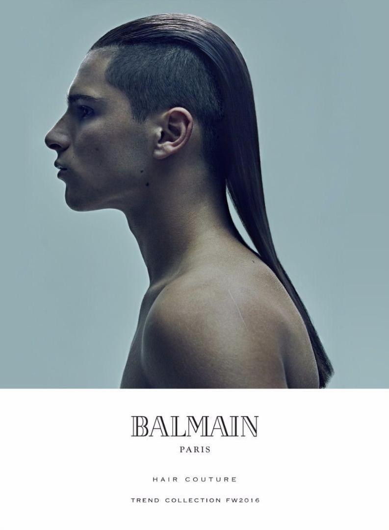 Balmain Hair Couture Fall Winter 2016 Campaign