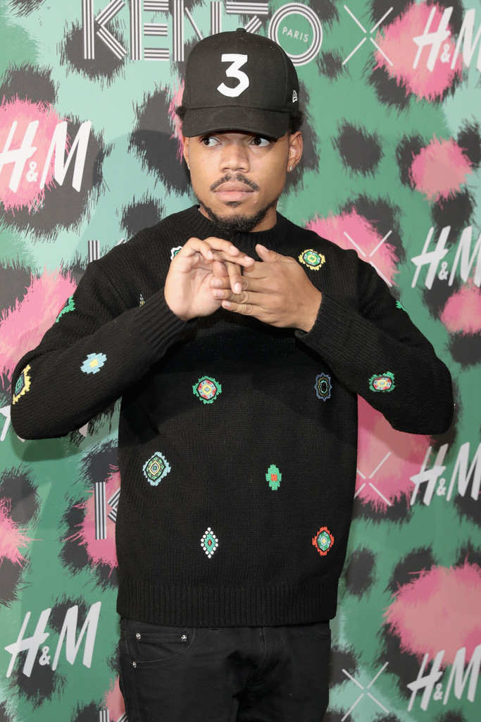 SPOTTED: Chance The Rapper Wearing H&M x Kenzo