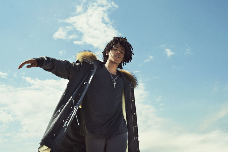 Luka Sabbat Stars in Ovadia & Sons' Fall Winter 2016 Campaign