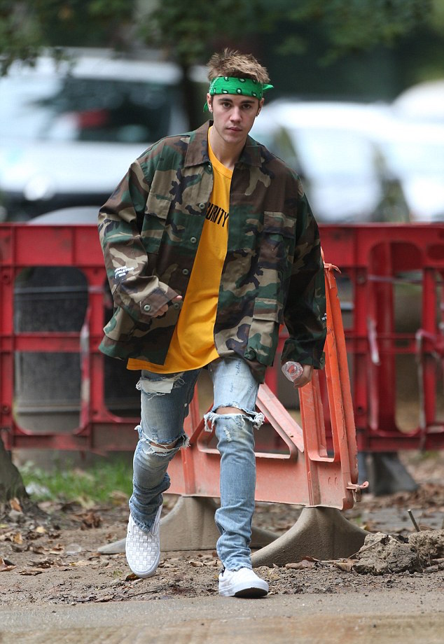 SPOTTED: Justin Bieber in Purpose Merch, Fear Of God & Vans