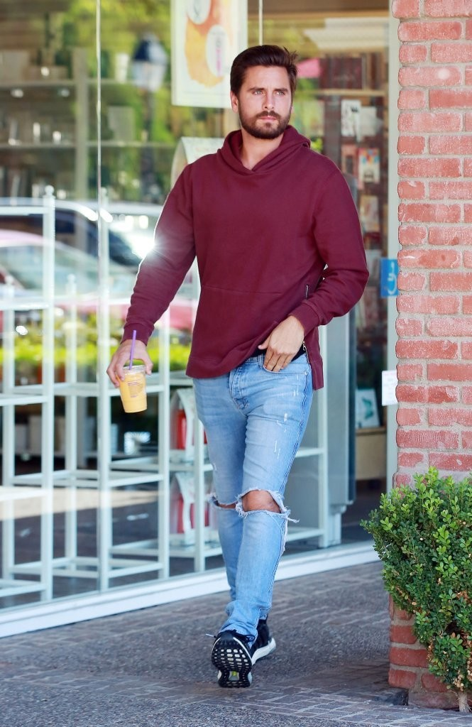 Spotted: Scott Disick In John Elliott, Ksubi and Adidas UltraBOOST Sneakers