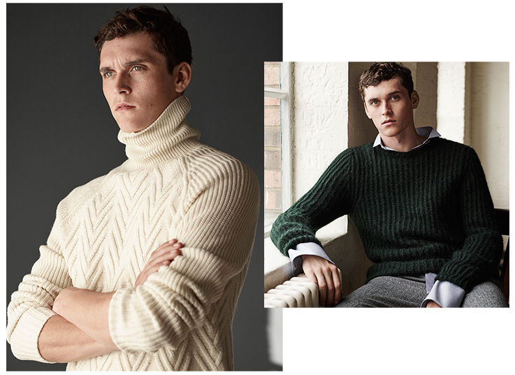 Zara's New Man Editorial: 'Knits For Autumn'
