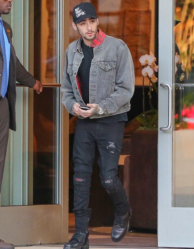 SPOTTED: Zayn Malik Wears Marc Jacques Burton Jeans & Levi's Jacket