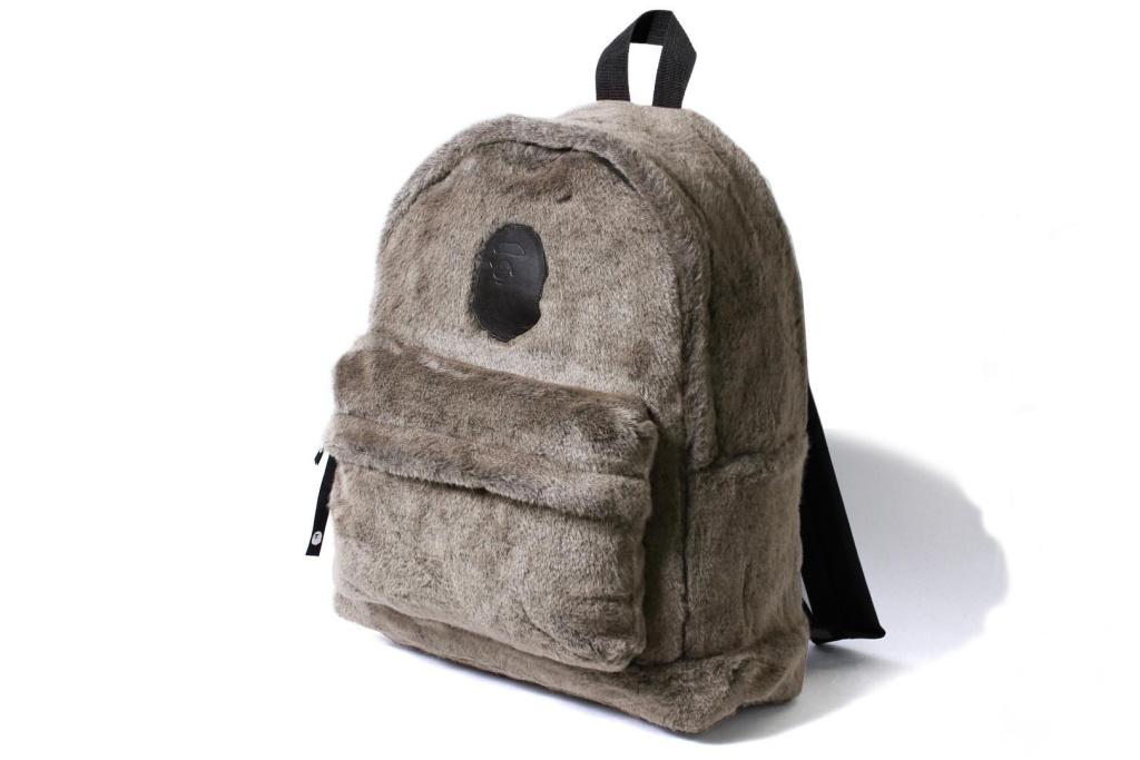 BAPE Fall/Winter 2016 Fur Backpack