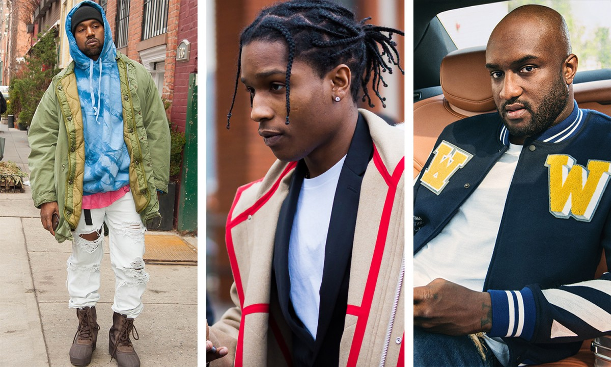 Kanye West, A$AP Rocky, Rihanna & Virgil Abloh Named As Fashion's Most Influential