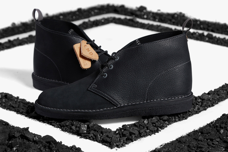 END. and Clarks Originals Collaborate on Limited Edition Desert Boot