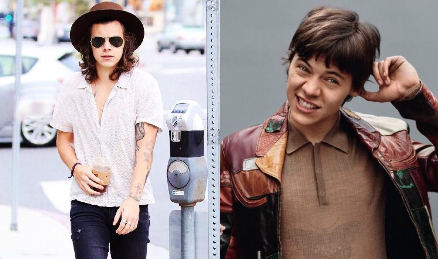 Style Evolution: Harry Styles Before & After Look