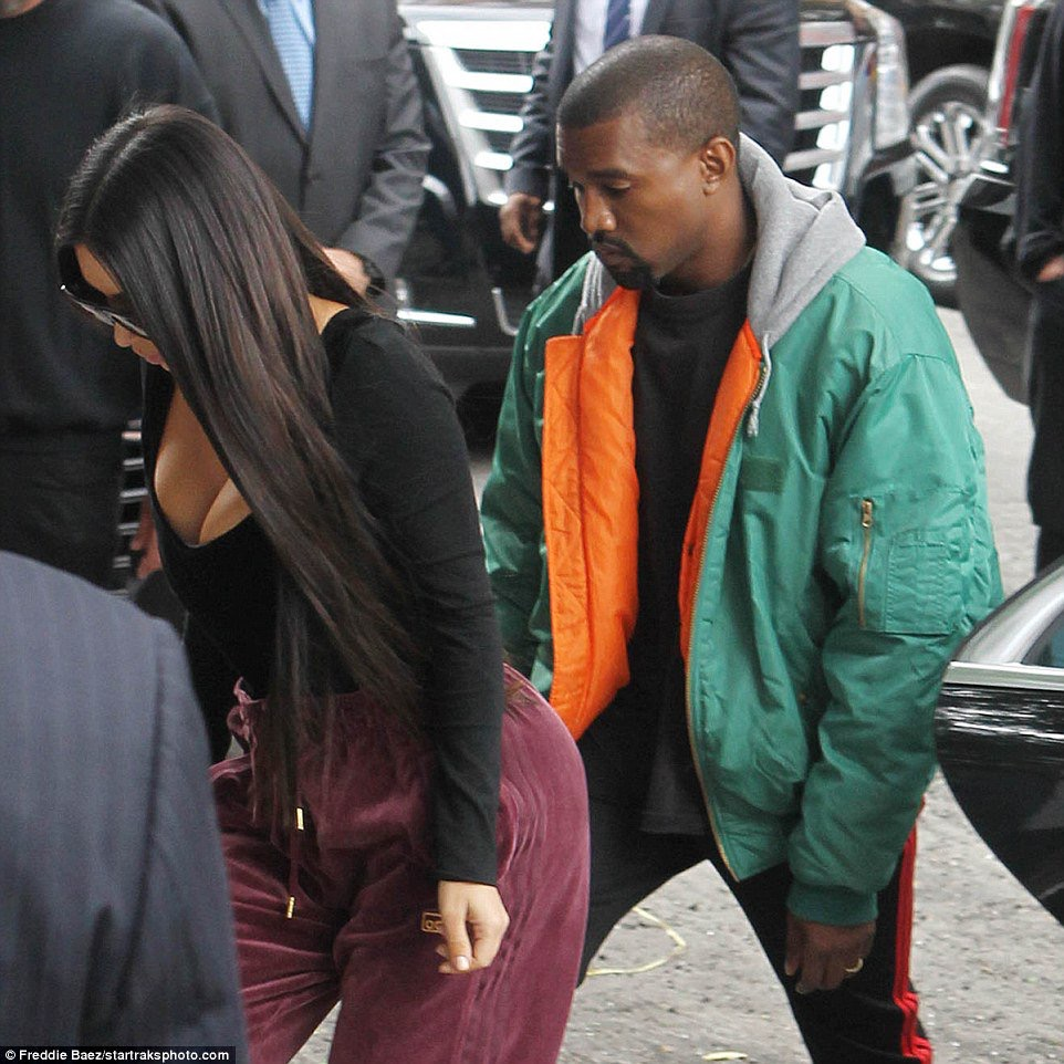 Spotted: Kanye West In Vetements Bomber In NYC