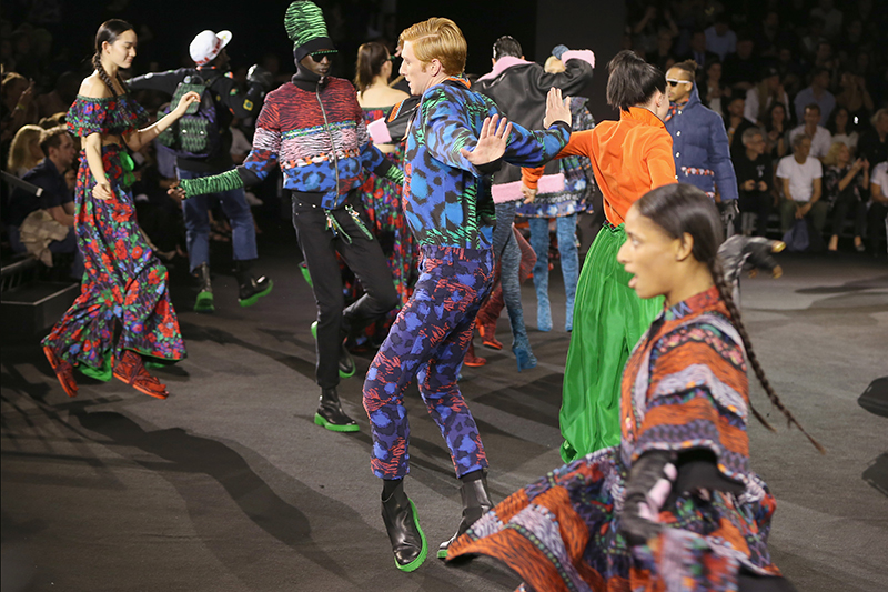 KENZO X H&M Runway Show Is A Spectacle