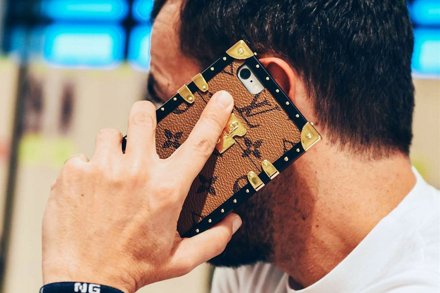 Louis Vuitton to release an iPhone case designed after the Petit Malle trunk bag