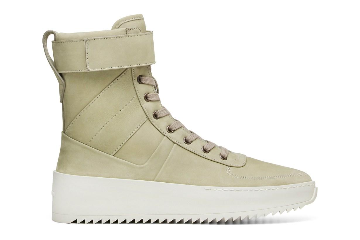 Sneaker Watch: Fear Of God in 'Money Green'