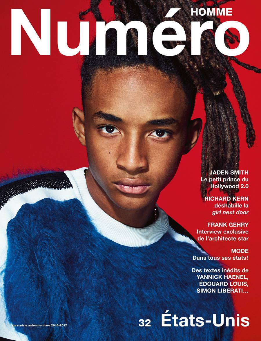 Jaden Smith Appears On Numéro Homme Cover