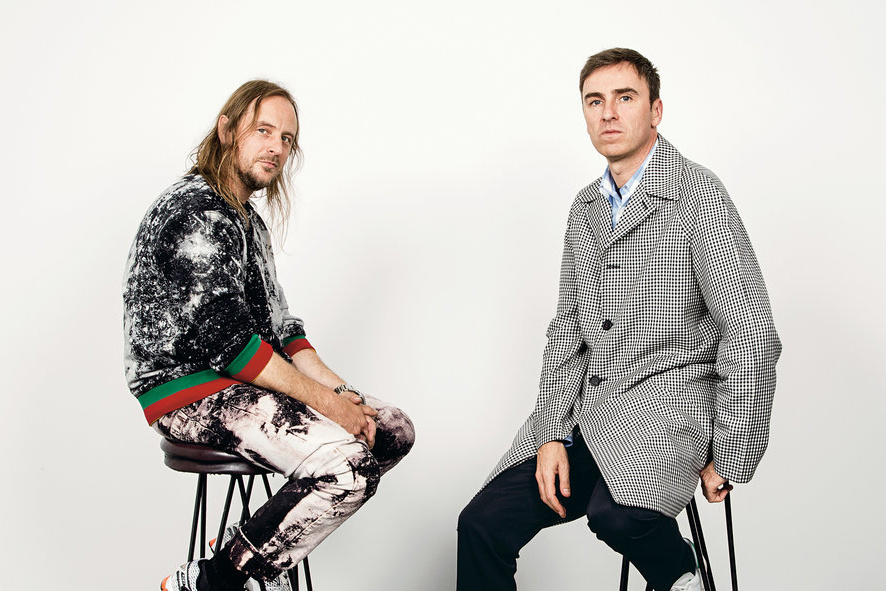 Raf Simons To Collaborate with Sterling Ruby For Calvin Klein?