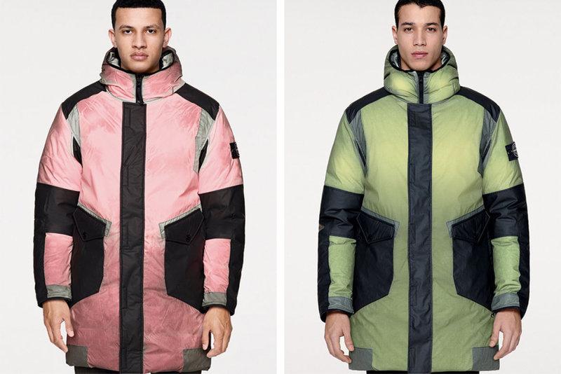 Stone Island's Colour Changing Ice Jacket