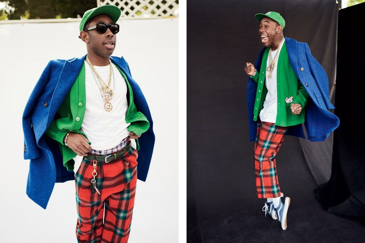 Tyler The Creator Features In GQ