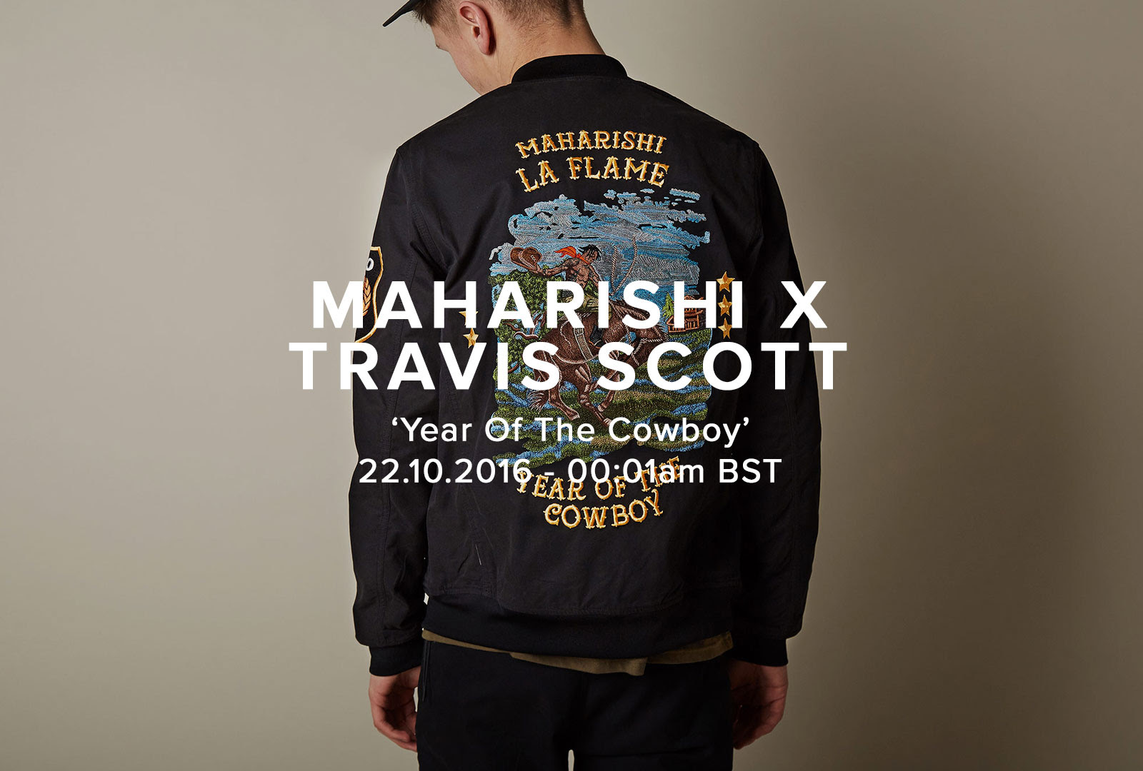 maharishi x Travis Scott 'Year Of The Cowboy' Collection Launch