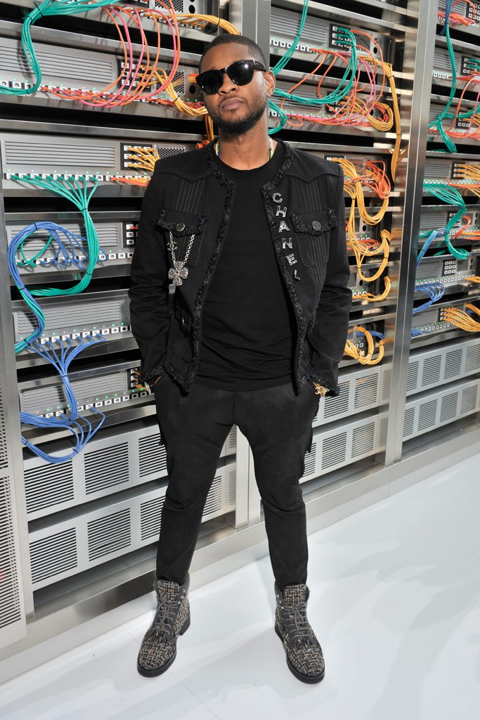 PAUSE Or Skip: Usher at the Chanel SS17 Show