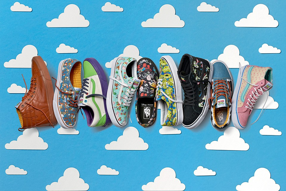 See The Full Vans x Toy Story Collaboration
