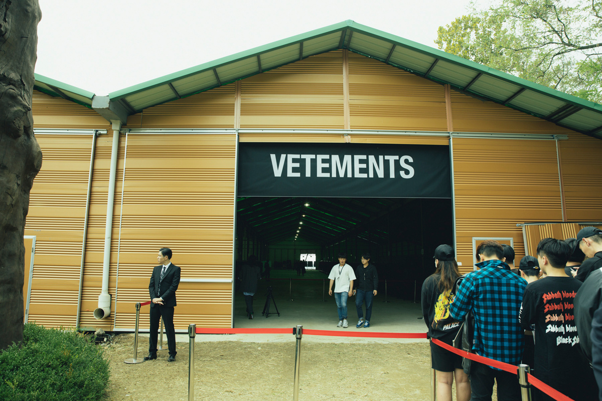 Vetements and MatchesFashion Host A High-Fashion Garage Sale in Seoul
