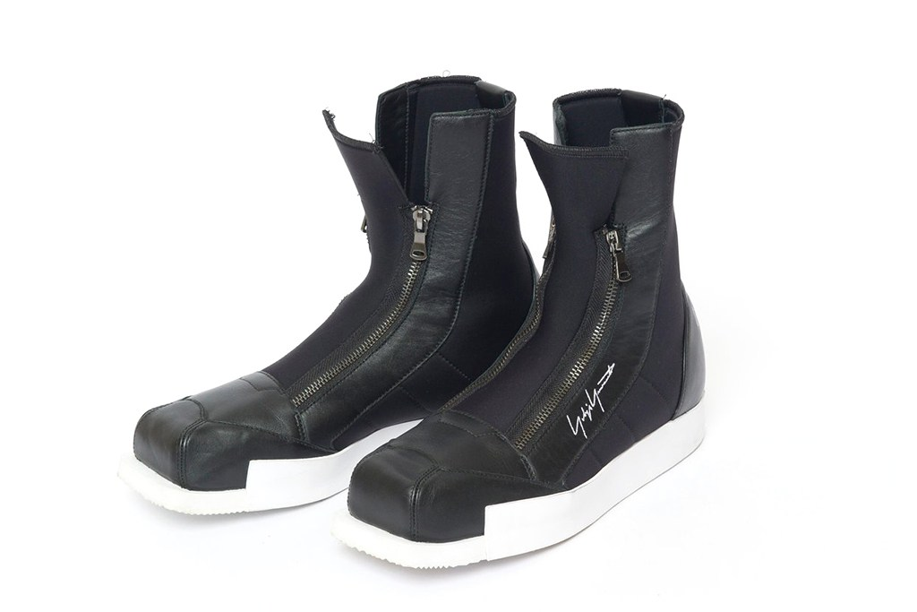 Yohji Yamamoto & adidas Collaborate on Hi-Top Boots