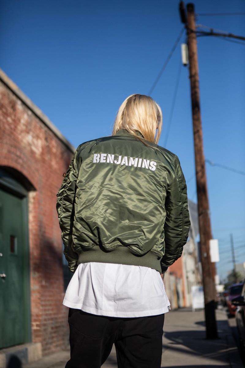 Les Benjamins x Alpha Industries Create Special Edition Jacket