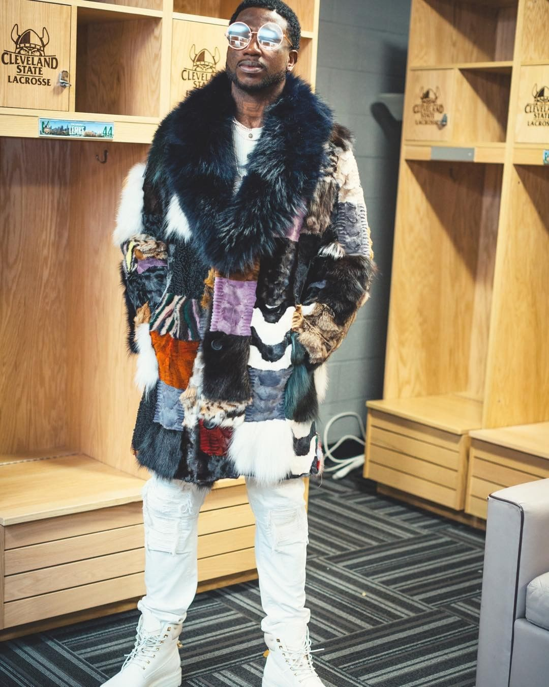 SPOTTED: Gucci Mane In Buscemi Boots
