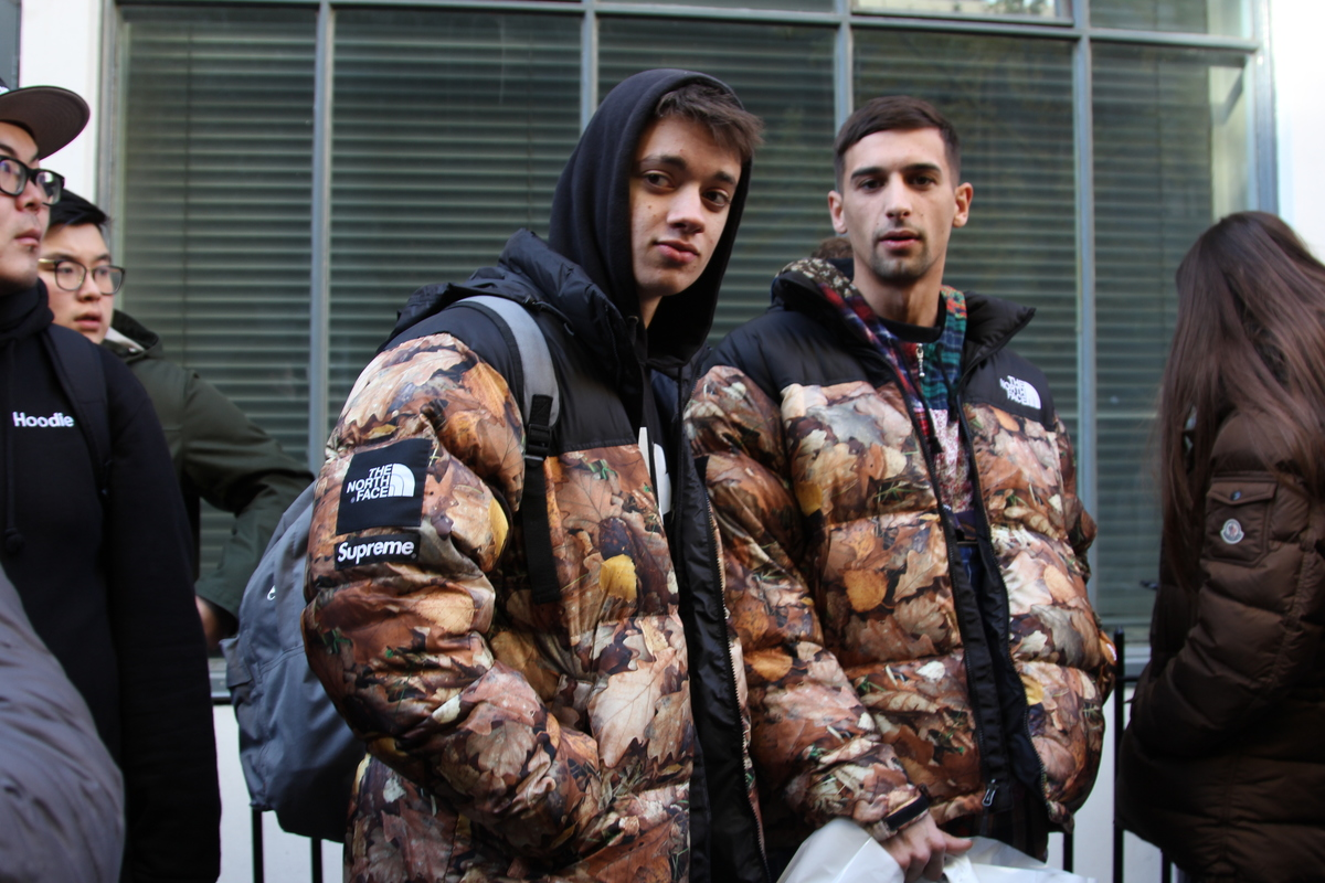 Street Style Shots: Supreme x The North Face FW16 Drop – Part 1