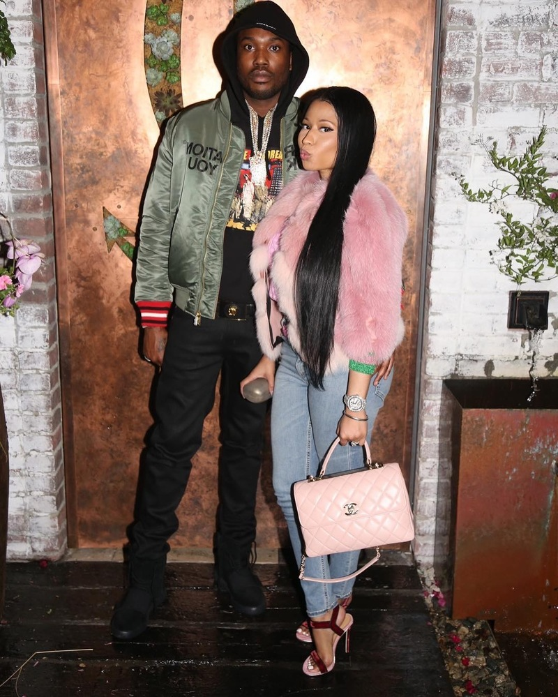 SPOTTED: Meek Mill In Supreme & Yeezy