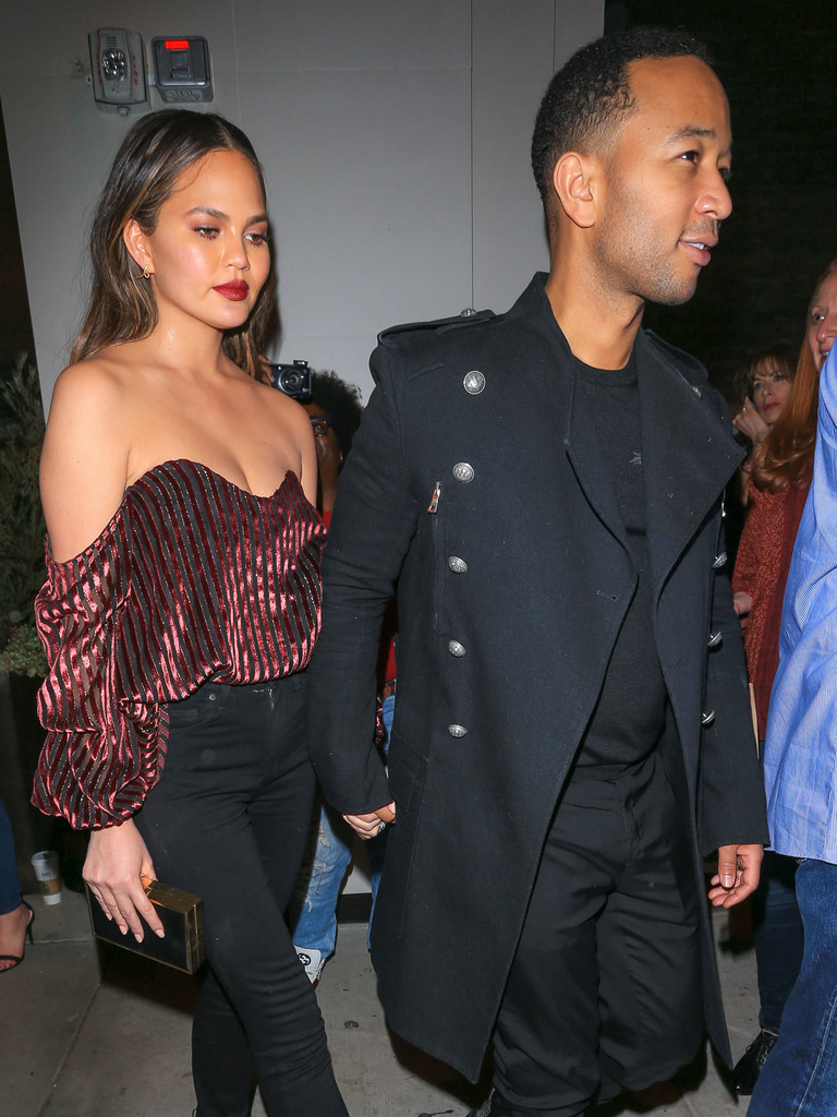 SPOTTED: John Legend In Balmain & Givenchy Sneakers