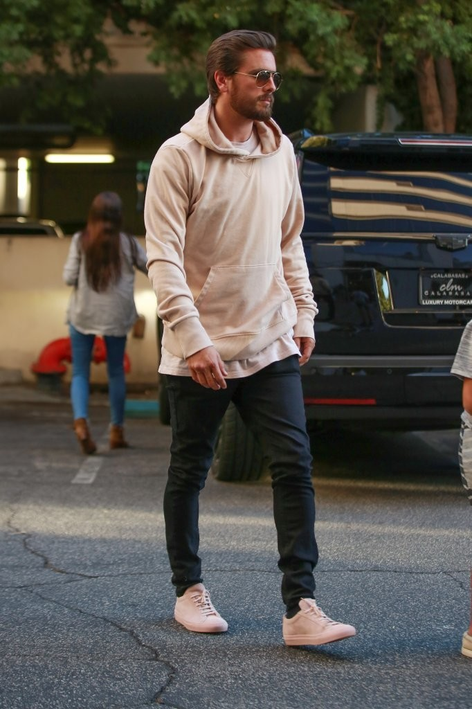 SPOTTED: Scott Disick in Saint Laurent, Knyew & Common Projects