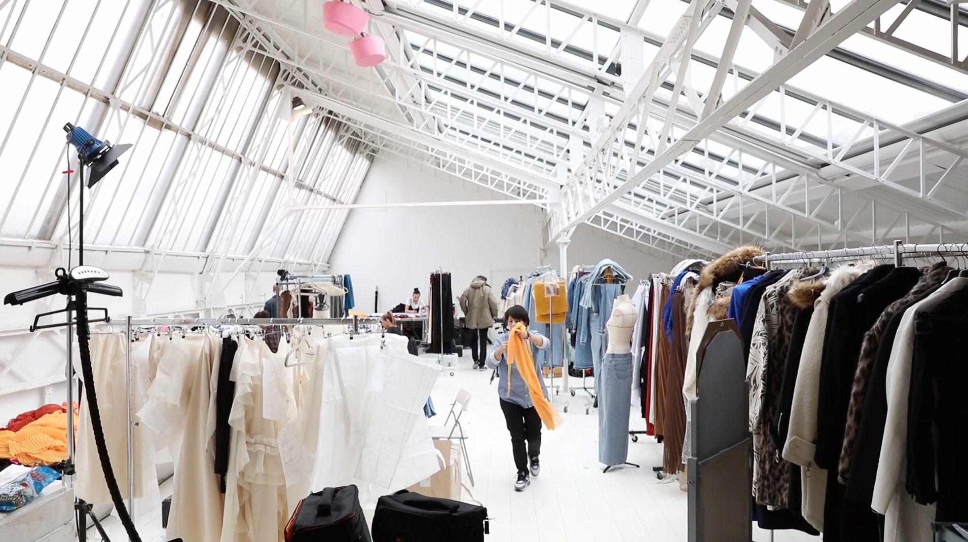 Behind-The-Scenes Look At OFF-WHITE's Women's Fall/Winter 2016 Collection