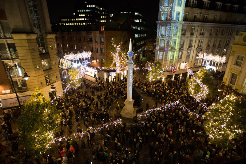 Seven Dials Turns On The Christmas Magic