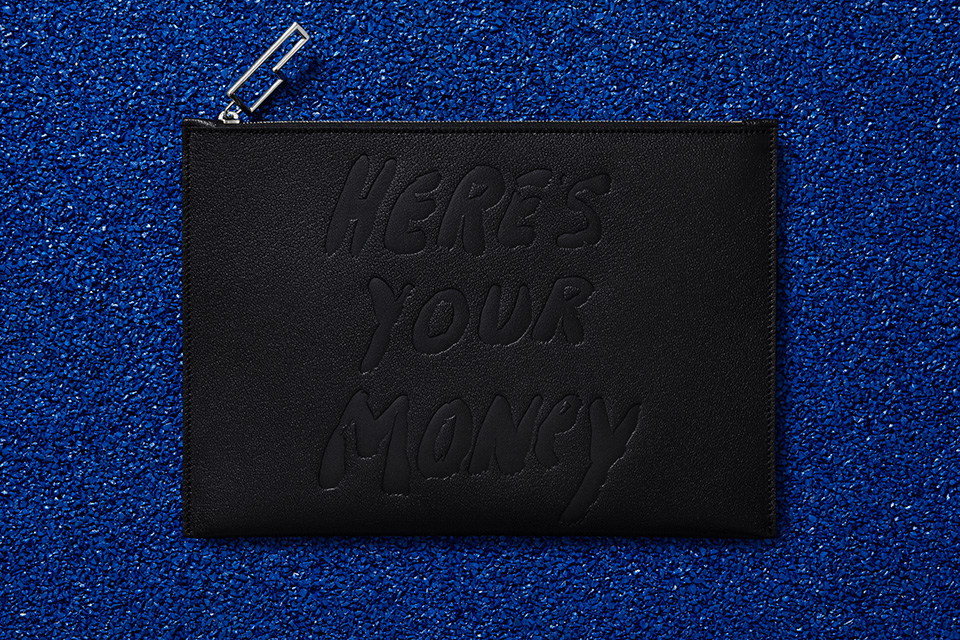 Acne Studios x Jack Pierson Produce Small Leather Pouches