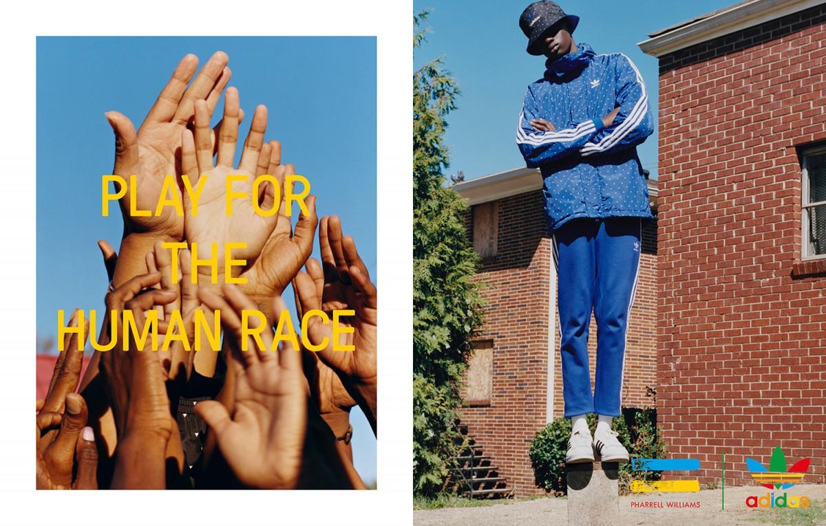 Adidas Originals x Pharrell Williams Latest Hu Collection