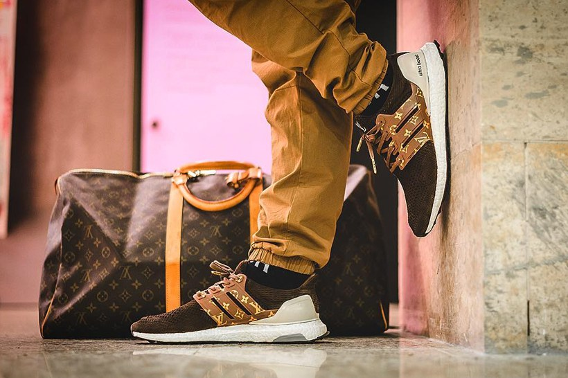 Dent Kicks Custom Creates Louis Vuitton UltraBOOST
