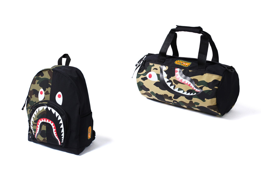 BAPE Presents New Shark Bag's To Up Your Luggage Game