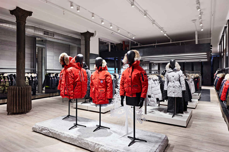 Canada Goose Launches NYC Flagship Store