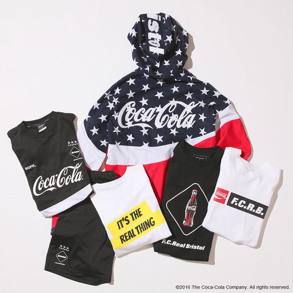 F.C.R.B x Coca-Colla Capsule Collection