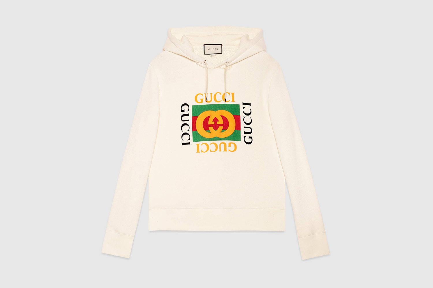 Gucci Launches New Logo Branded Hoodie & T-Shirt