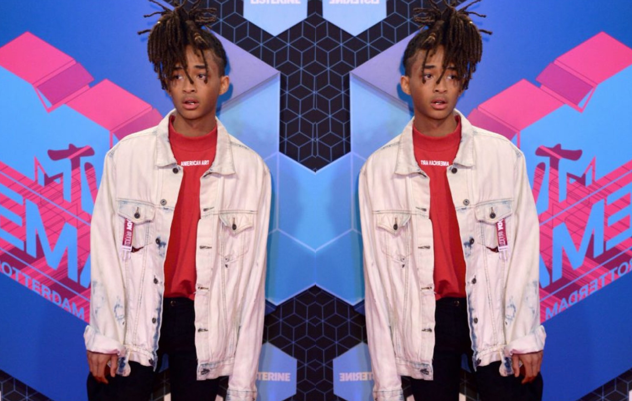 Get The Look: Jaden Smith In The Incorporated & Puma Sneakers