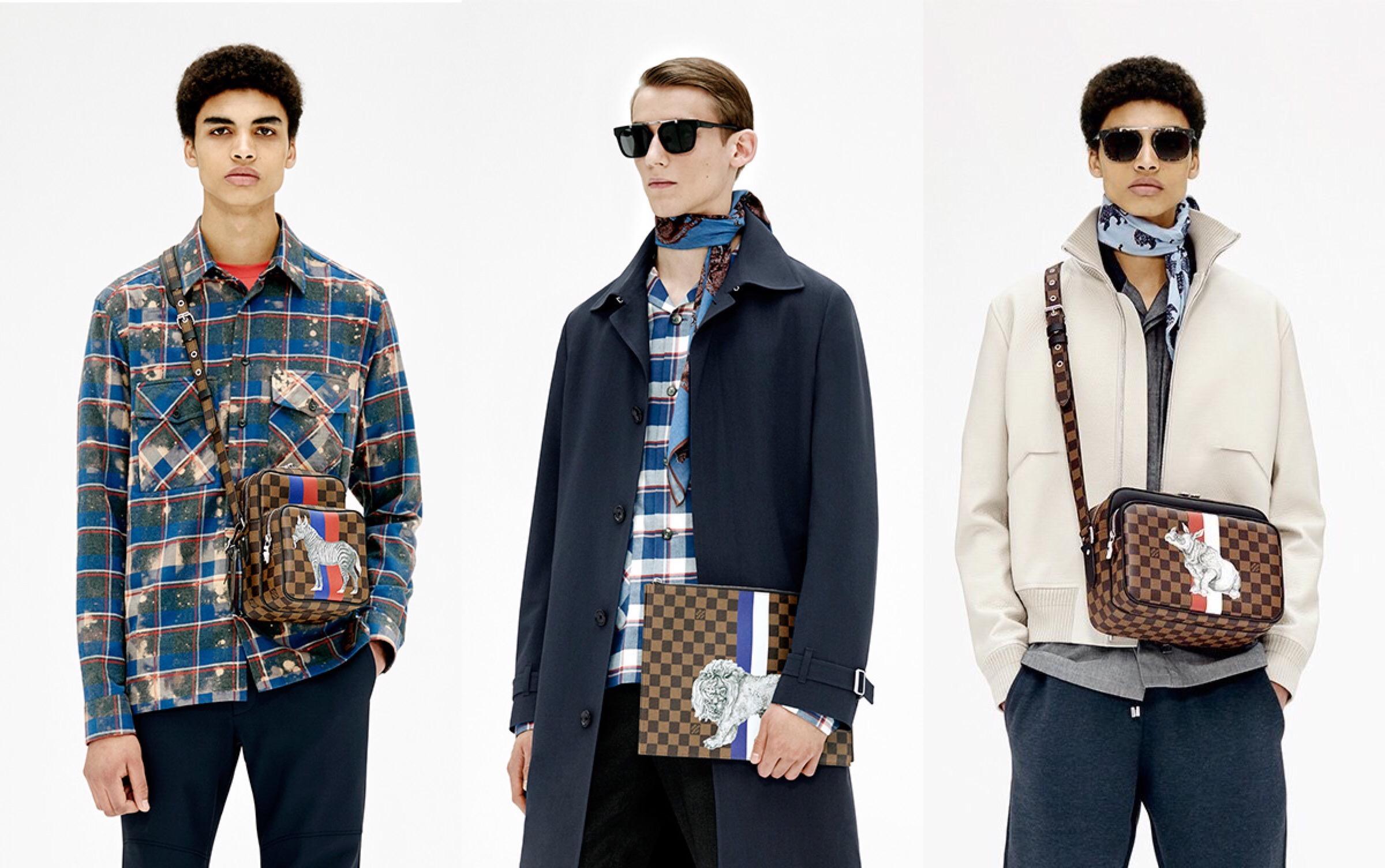 Louis Vuitton Pre-Spring 2017 Lookbook