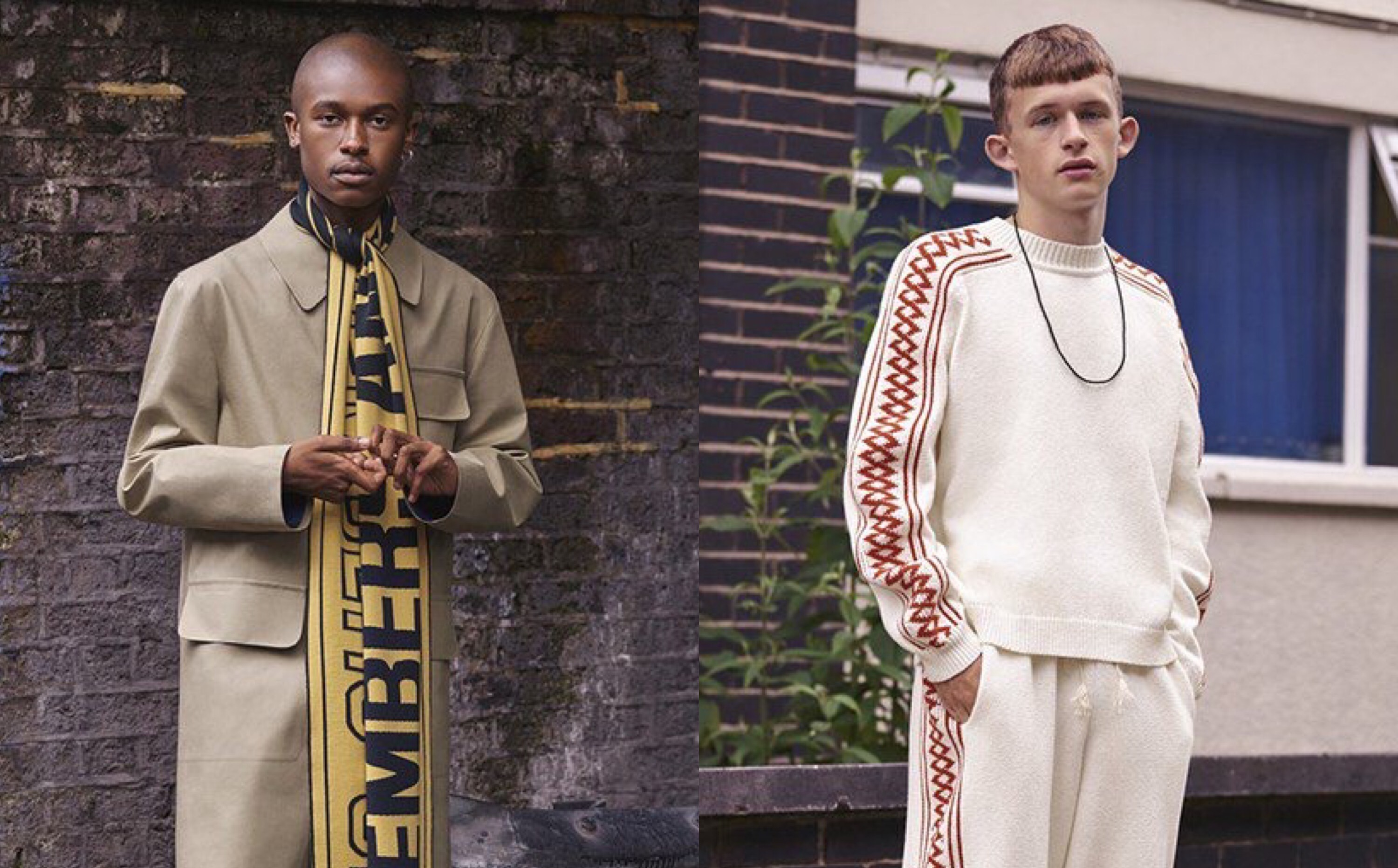 Stella McCartney Debuts Her First Menswear Collection