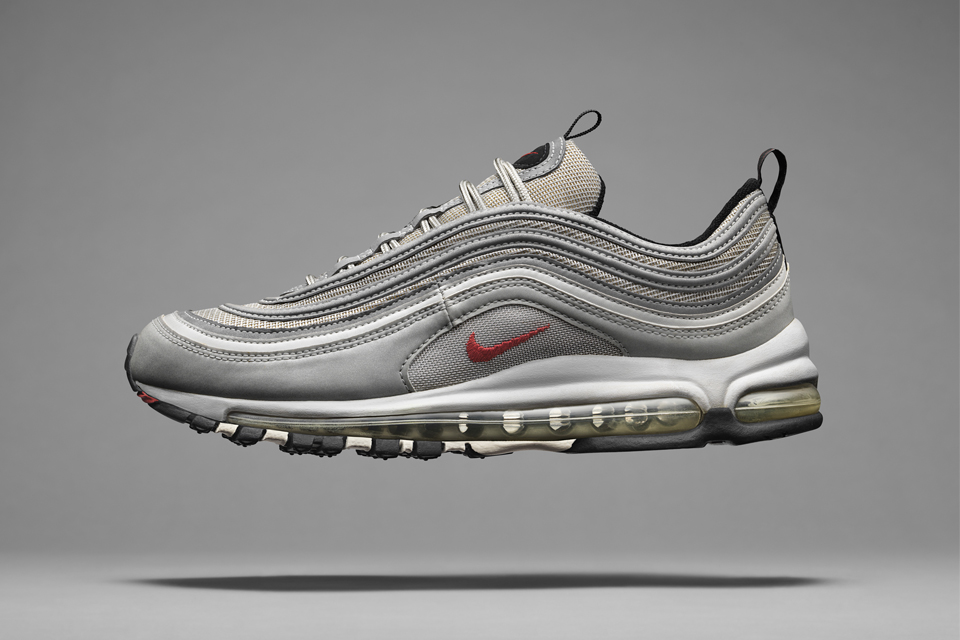 """Nike Announce """"La Silver"""" For The 20th Anniversary of the Air Max 97"""