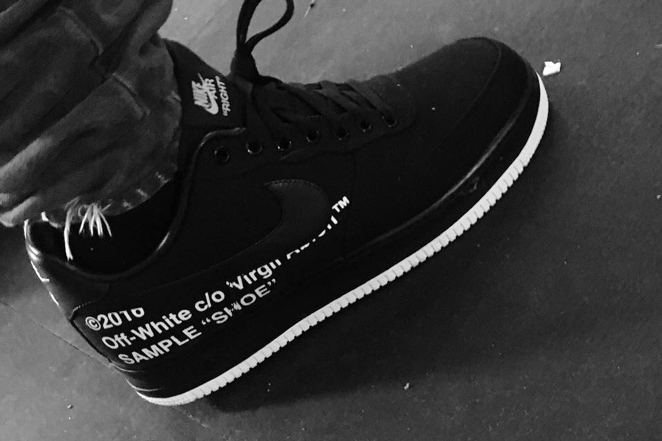 Is There An OFF-WHITE X Nike Air Force 1 In The Works?