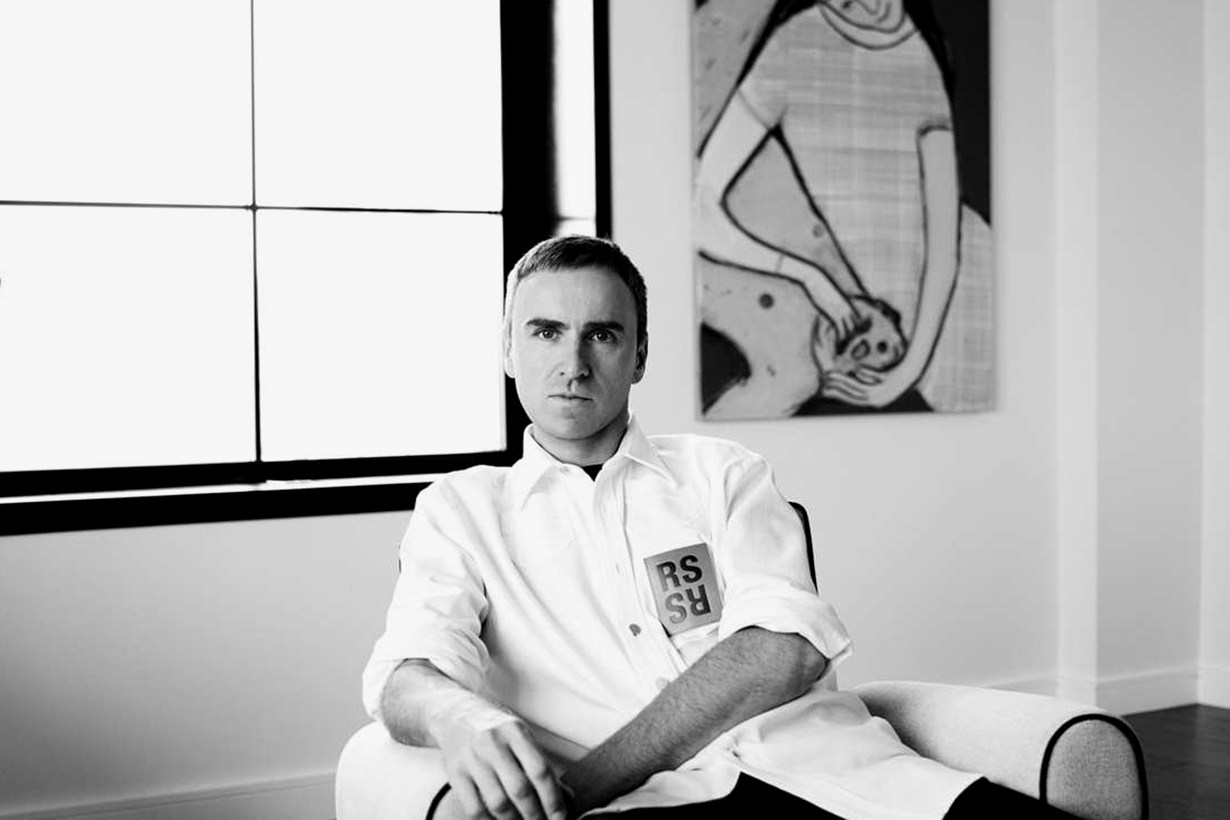 Raf Simons Will Join Men's & Women's Collection For His First Calvin Klein Show