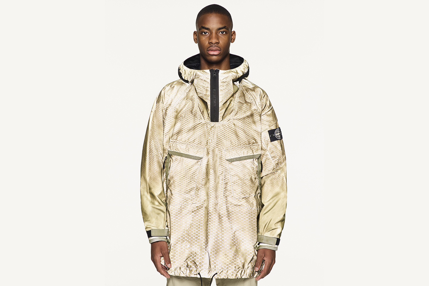 Stone Island Reveals Its Prototype Research Jacket With Laser Print Detailing