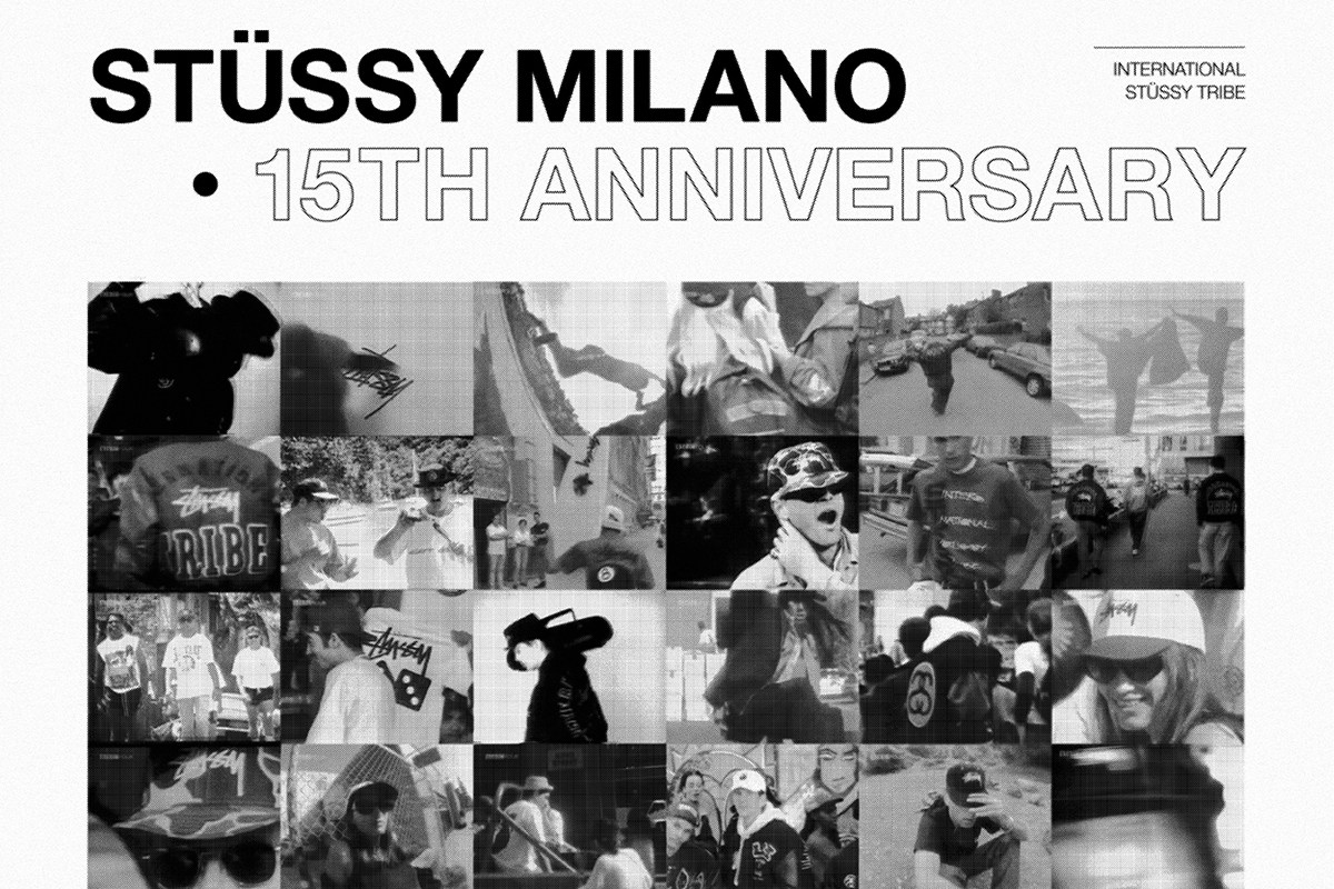 The 15th Anniversary of Stüssy Milano