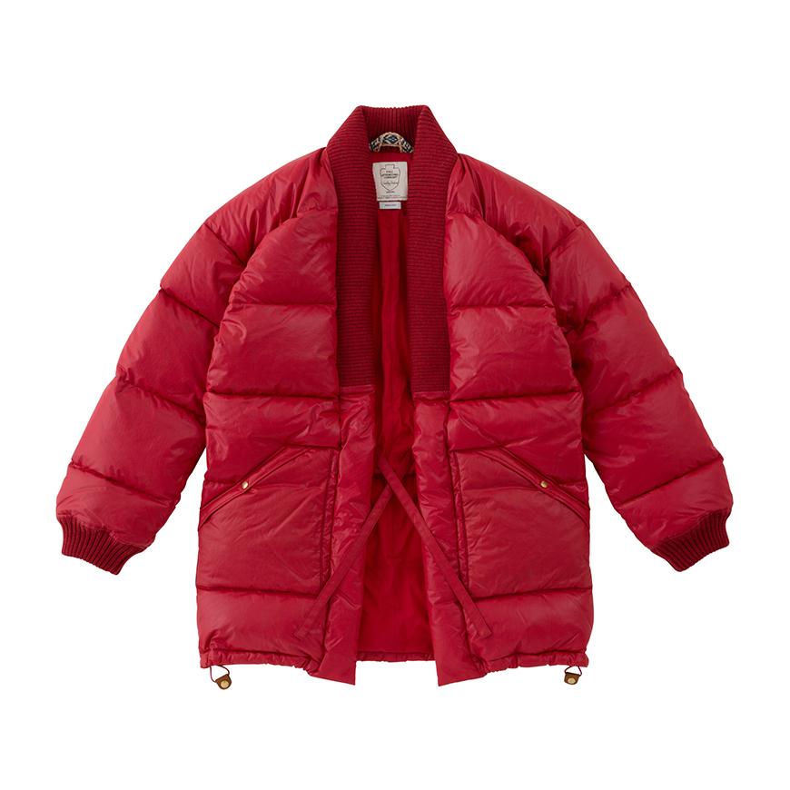 visvim Launches Kimono-Inspired Dotera Down Coat