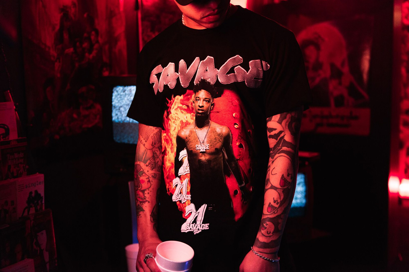21 Savage x Young & Reckless Collaborative Collection