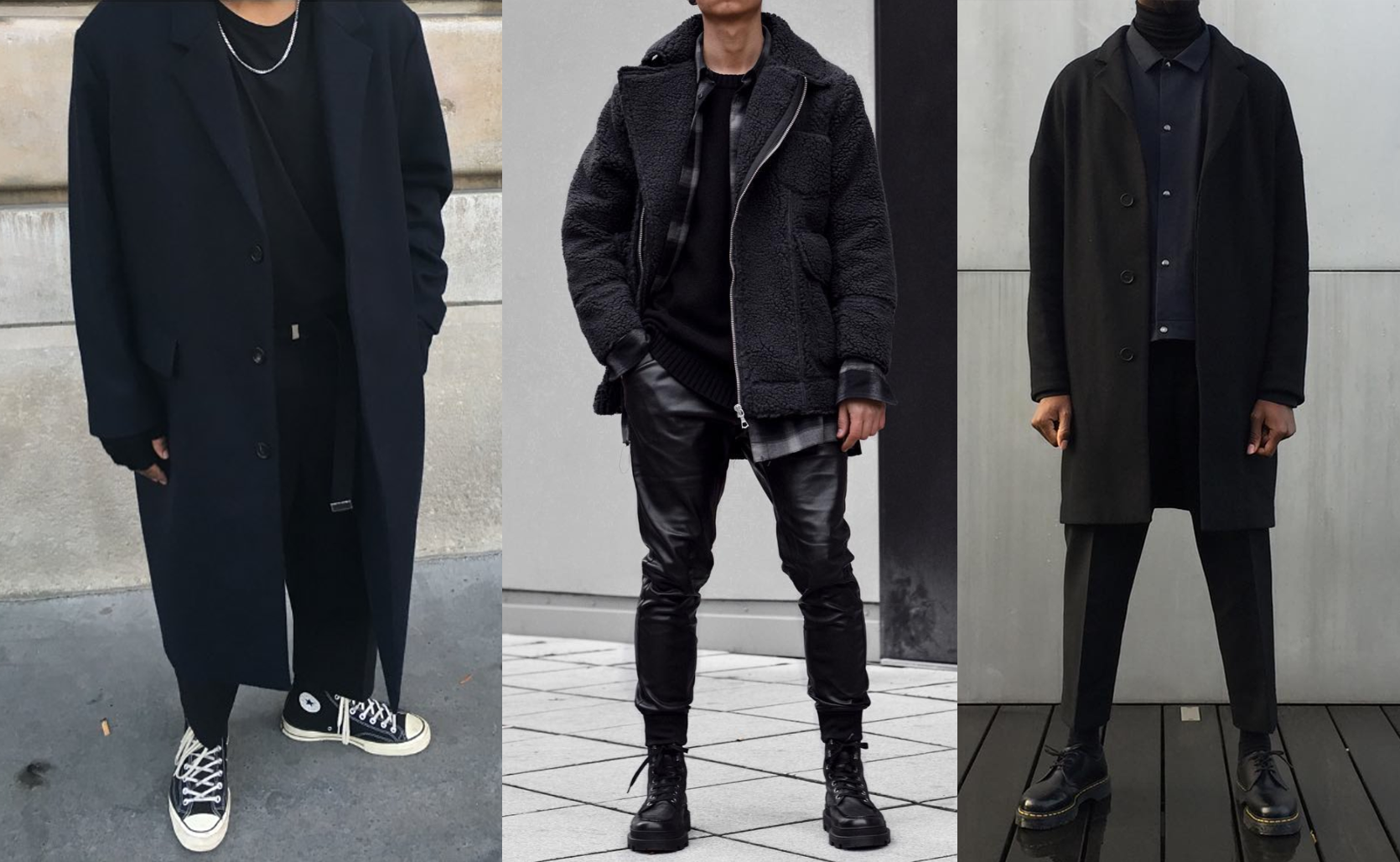 PAUSE Guide: How To Wear All Black In Winter